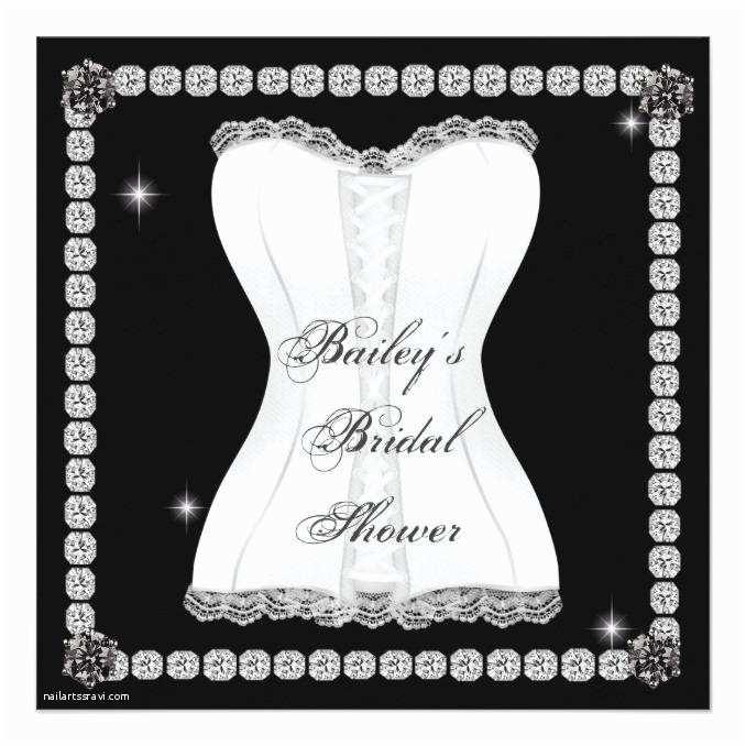 Bling Wedding Invitations Bling Bridal Shower Invitation Wedding Invitations