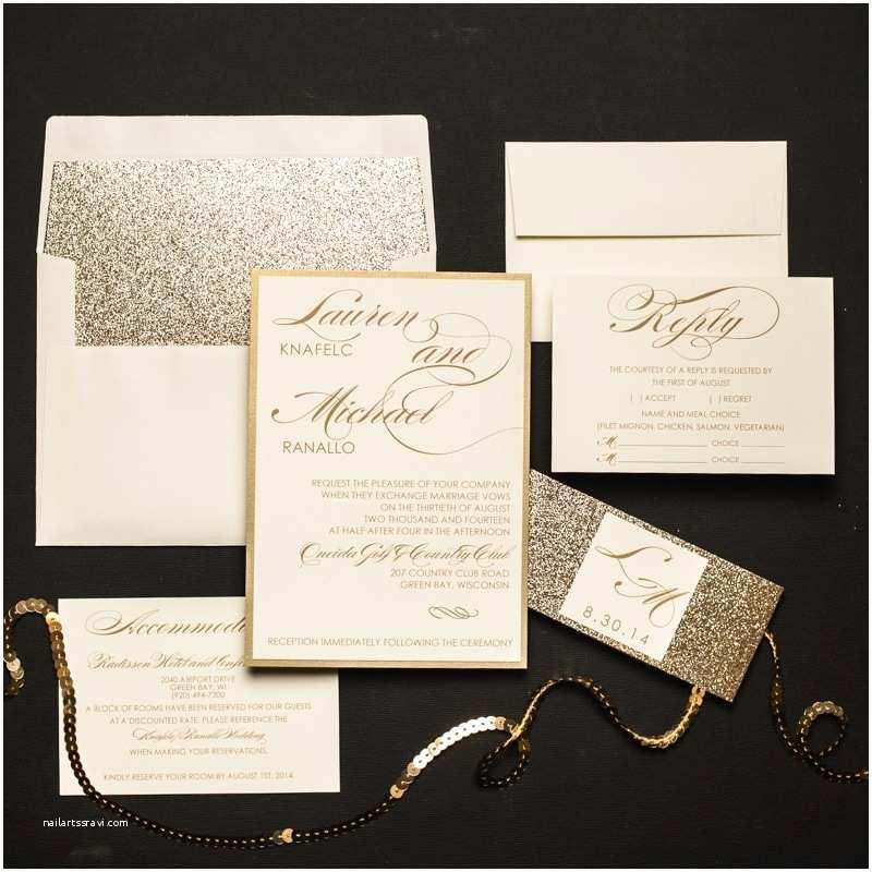 Bling Wedding Invitations Bling Wedding Invitations Archives too Chic Little Shab