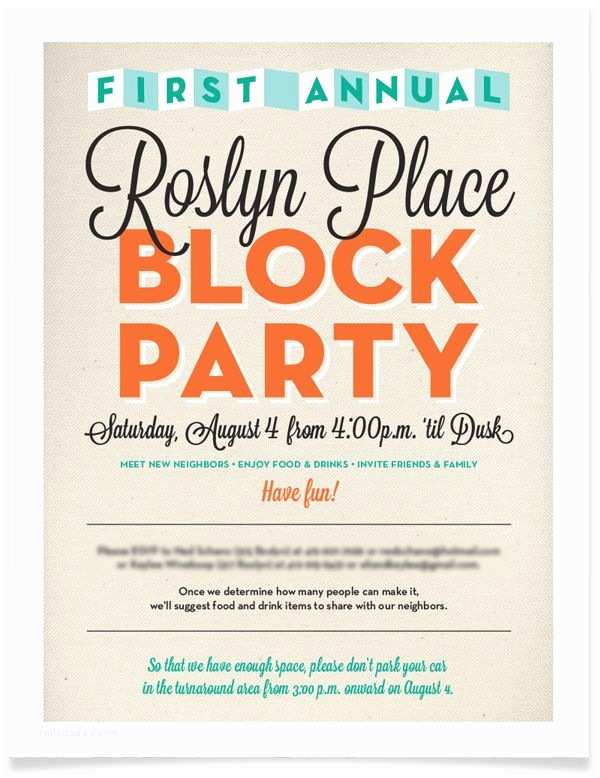 Block Party Invitation 17 Best Images About Invitations On Pinterest