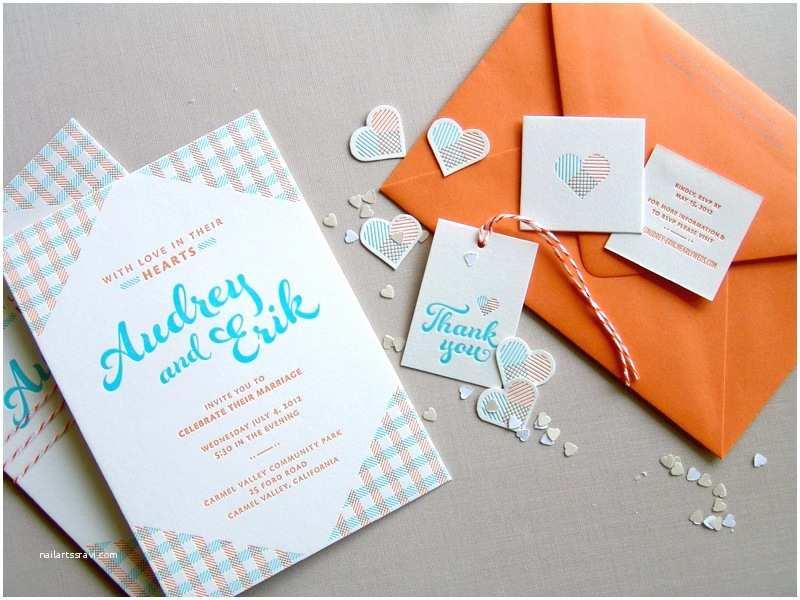 Blue and orange Wedding Invitations Pinterest • the World's Catalog Of Ideas
