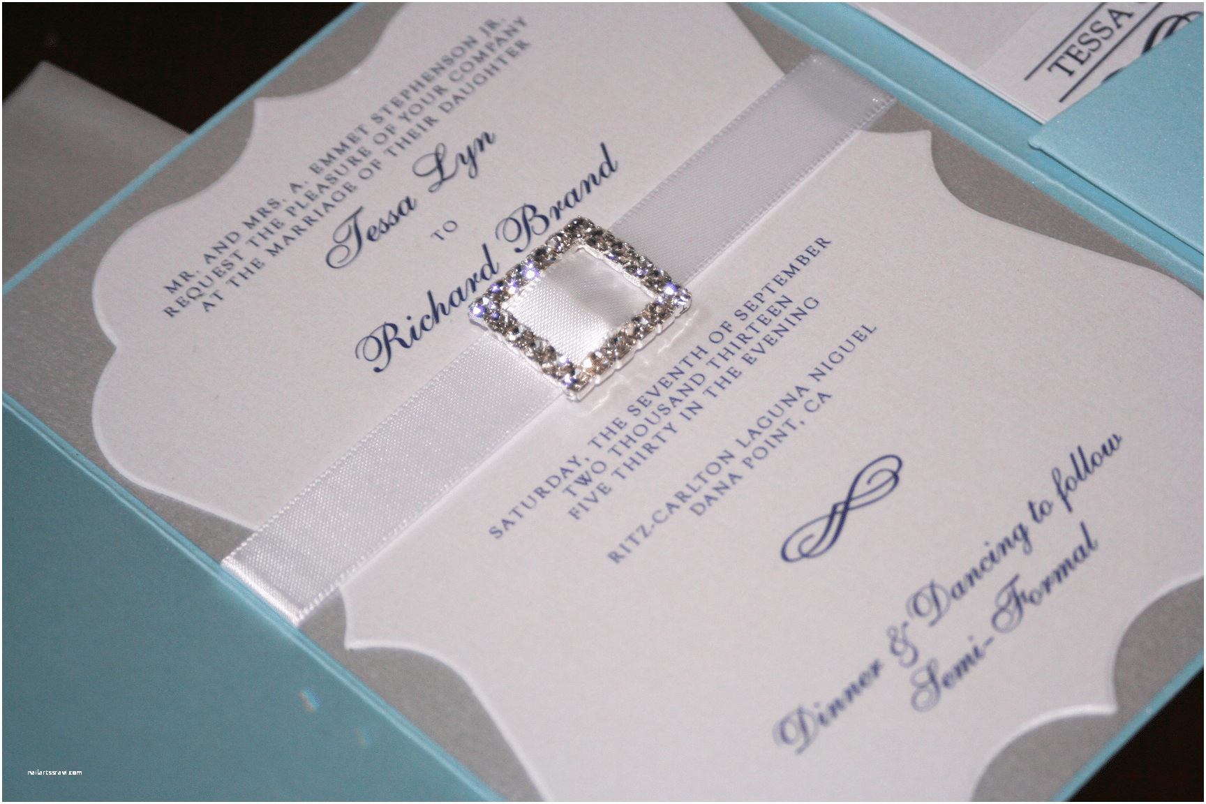 Blue and Silver Wedding Invitations Light Blue and Silver Wedding Invitations too Chic