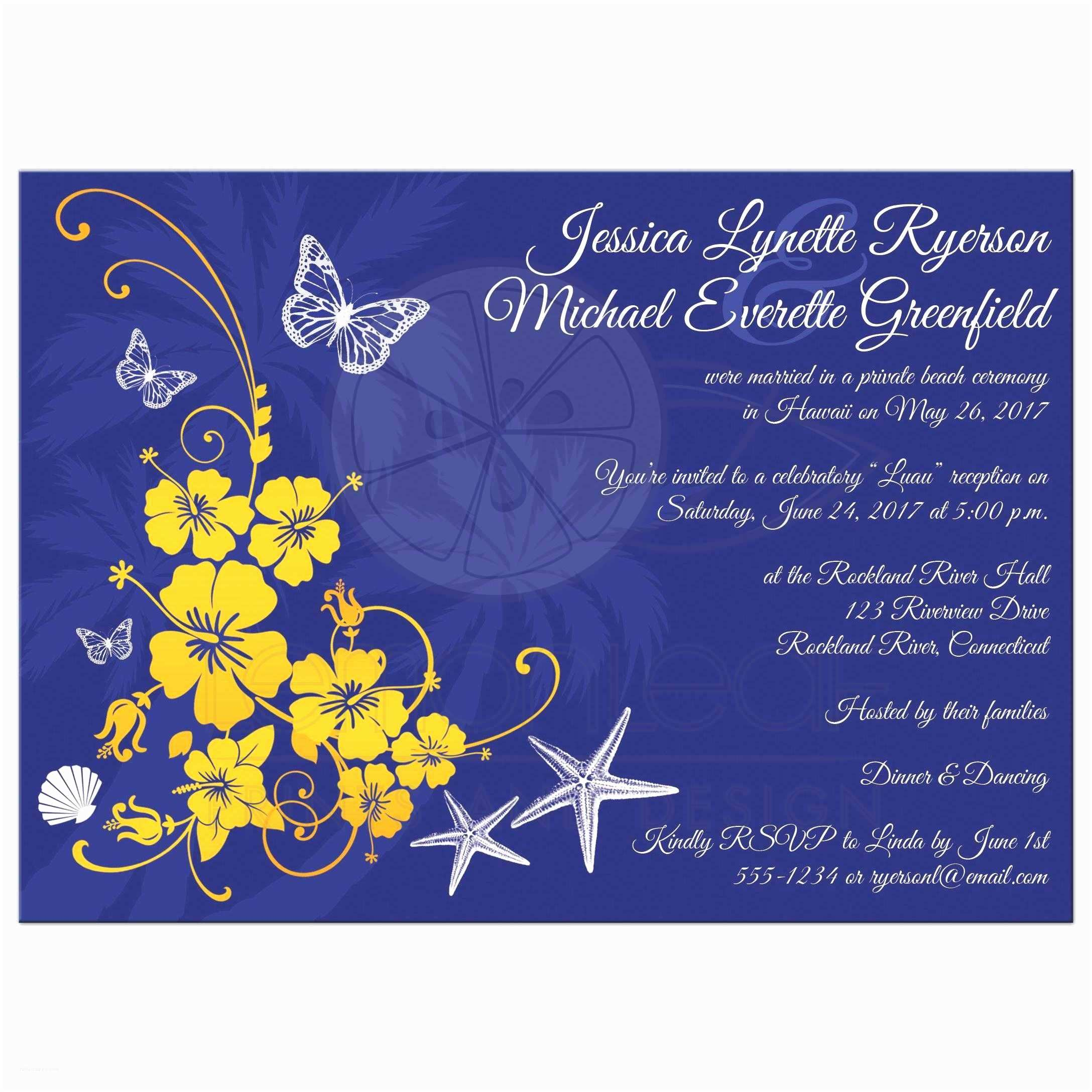 Blue and Yellow Wedding Invitations Elegant Wedding Invitation Templates Yellow