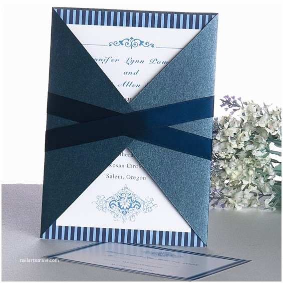 Blue Wedding Invitations Blue Wedding Invitations