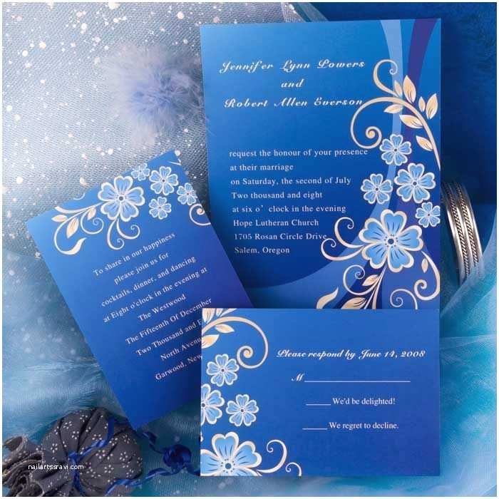 Blue Wedding Invitations Royal Blue Wedding Color Scheme Google Search