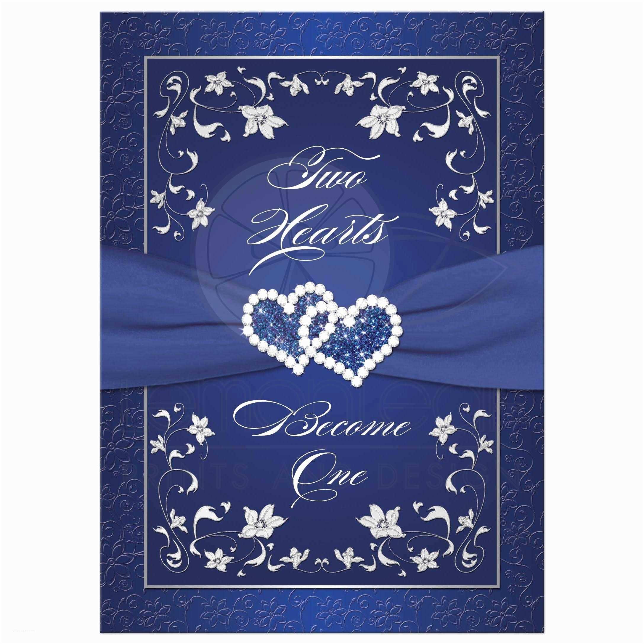 Blue Wedding Invitations Wedding Invitation