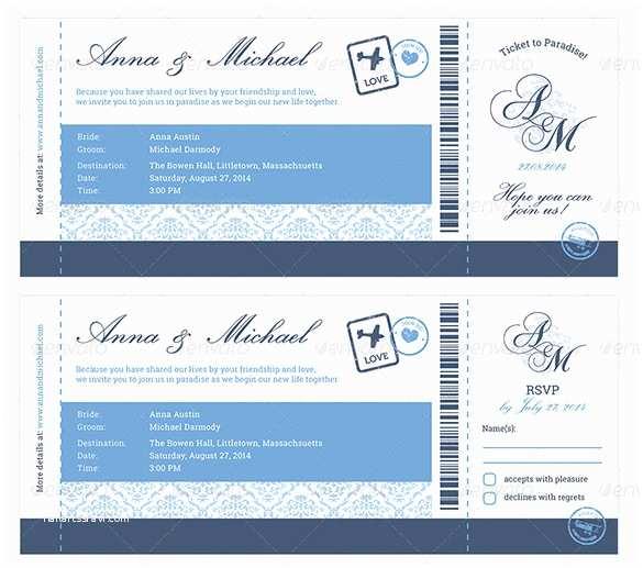 Boarding Pass Wedding Invitations Boarding Pass Wedding Invitations Template Templates