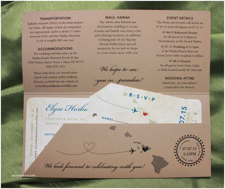 Boarding Pass Wedding Invitations Trees & Leaves Archives Emdotzee Designs