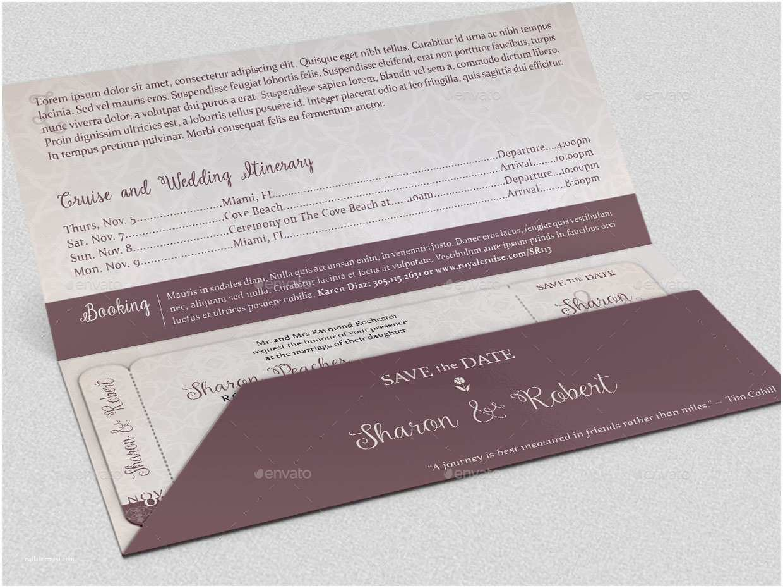 Boarding Pass Wedding Invitations Wedding Boarding Pass Invitation Template by Godserv2