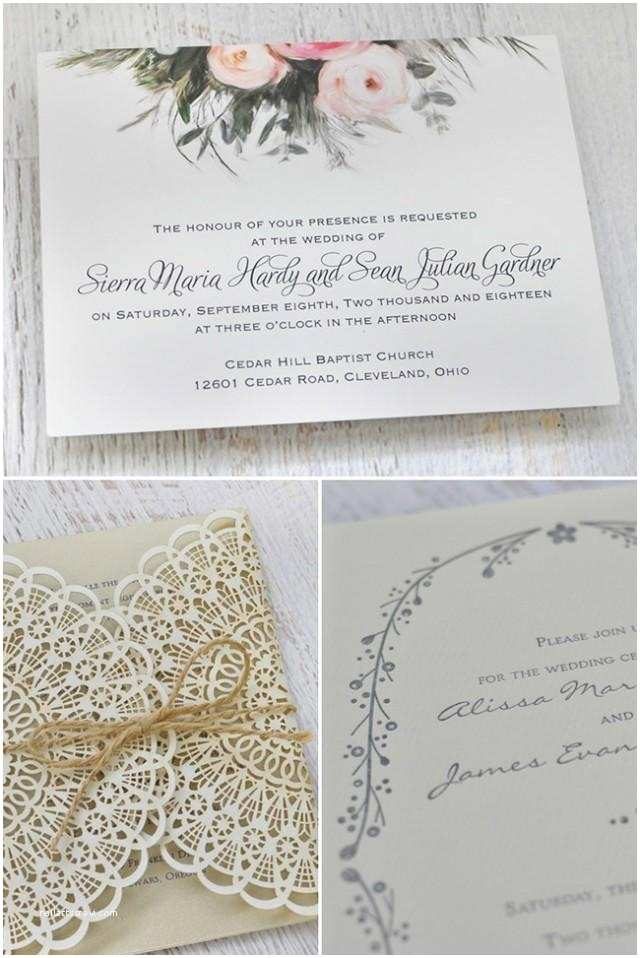 Boho Wedding Invitations Boho Wedding Invites by Invitations by Dawn Weddbook