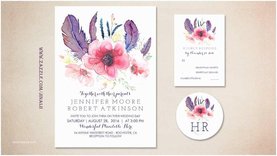Boho Wedding Invitations Read More – Boho Floral Wedding Invitations