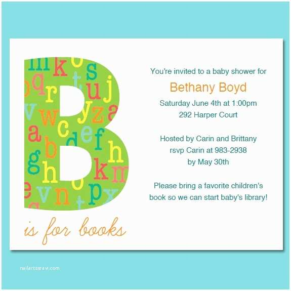 Book Baby Shower Invitations Book theme Baby Shower or Birthday Invitations Printable Pdf