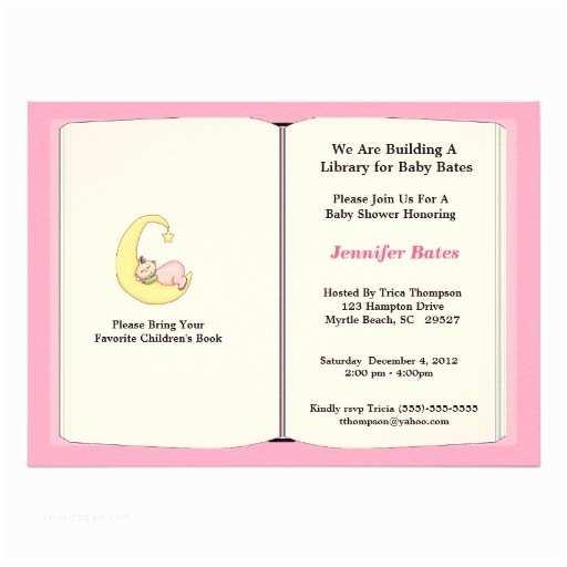 Book Baby Shower Invitations Book themed Baby Shower Invitations Squidoo
