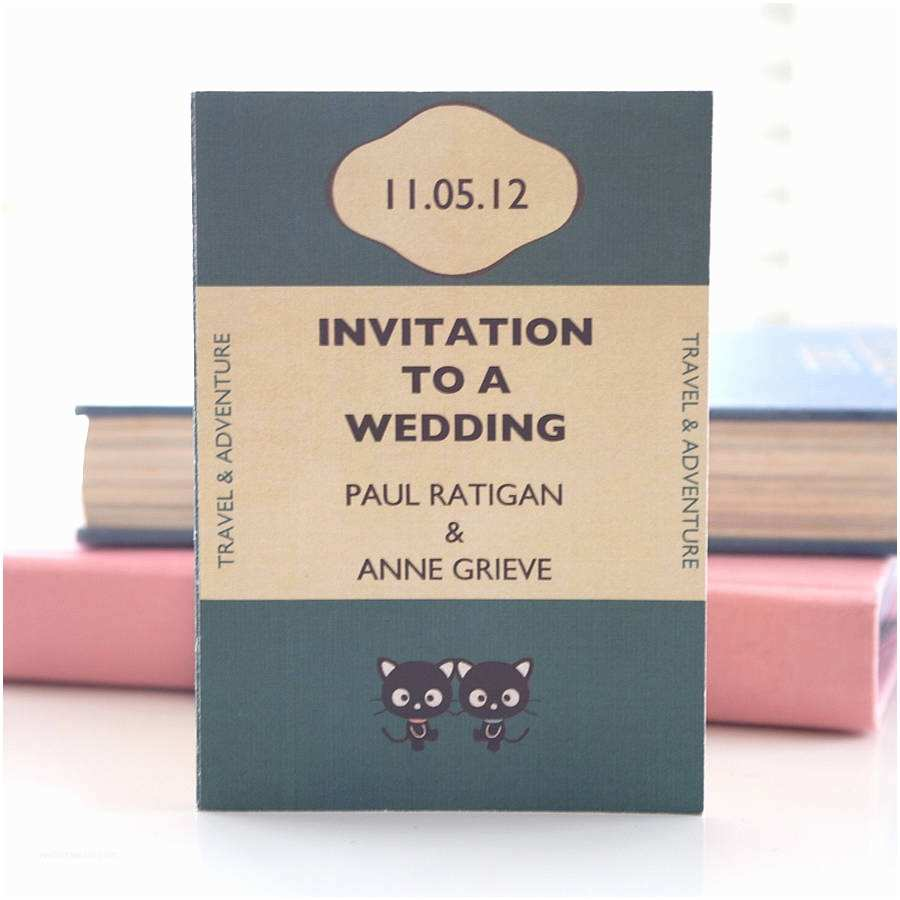 Book themed Wedding Invitations 20 Creative Ideas for A Book Inspired Wedding Lots Of