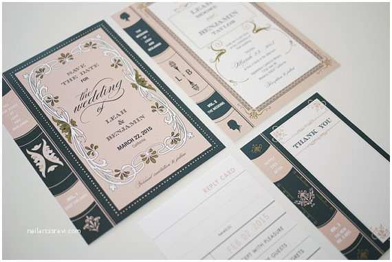 Book themed Wedding Invitations Best Selection Book themed Wedding Invitations
