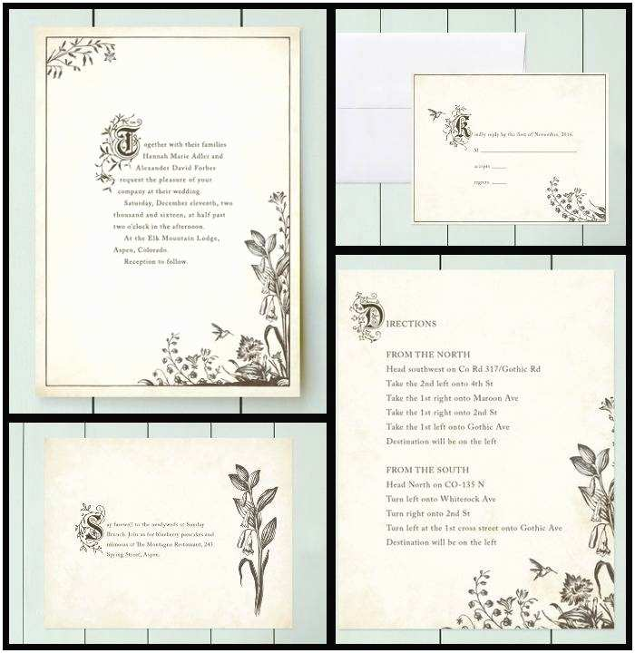 Book themed Wedding Invitations Bookish Wedding Invitations for Your Literary Lovefest