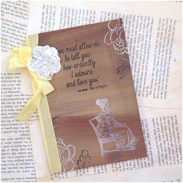 Book themed Wedding Invitations Rustic Fall Wedding Invitation Jane Austen Invitation