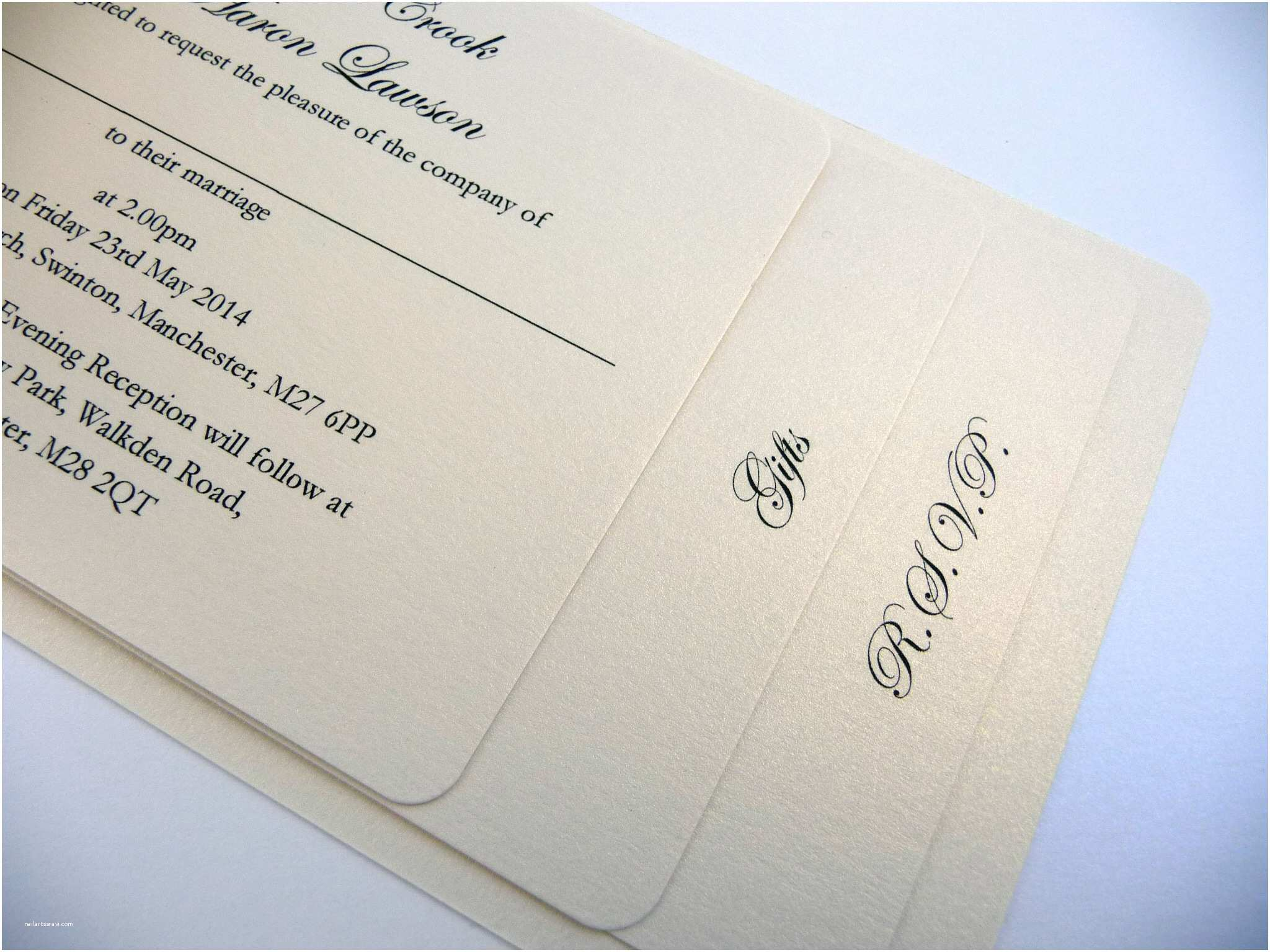 Book themed Wedding Invitations Sage Green and Ivory Cheque Book Wedding Invitation with