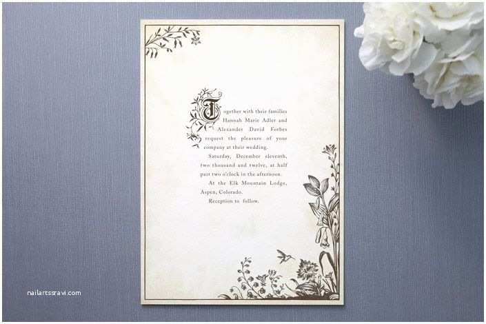 Book themed Wedding Invitations Story Book Invitation Book theme Baby Shower