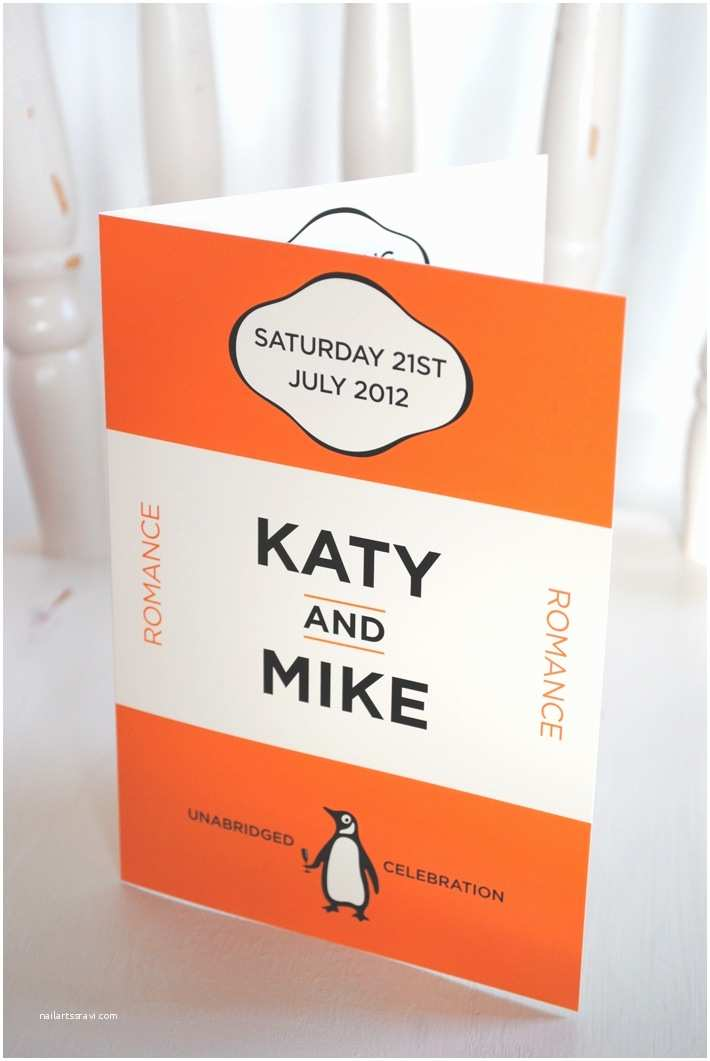Book Wedding Invitations Book Lover Wedding Invitation