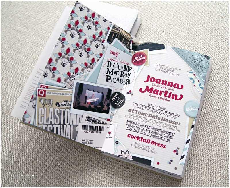 Book Wedding Invitations Joanna Martin S Music Inspired Book Wedding Invitations