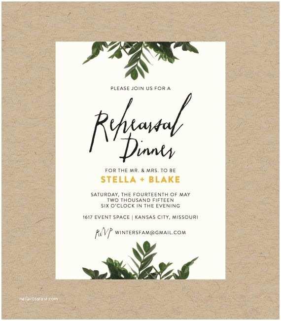 Botanical Wedding Invitations Best 25 Rehearsal Dinners Ideas On Pinterest