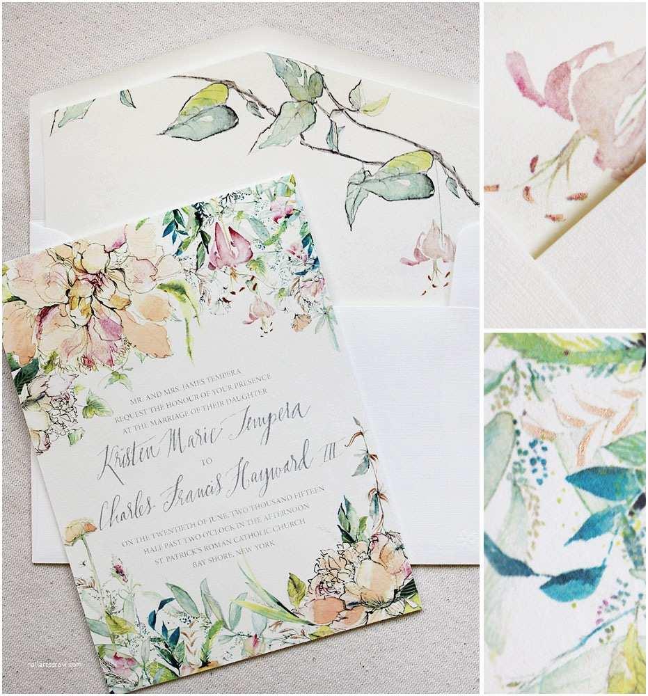 Botanical Wedding Invitations Kristen T Botanical Wedding Day Accessoriesmomental Designs