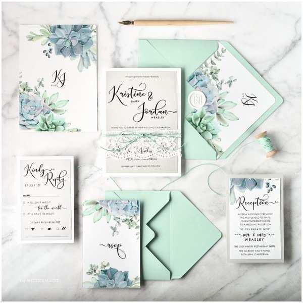 Botanical Wedding Invitations Wedding Invitations Botanical