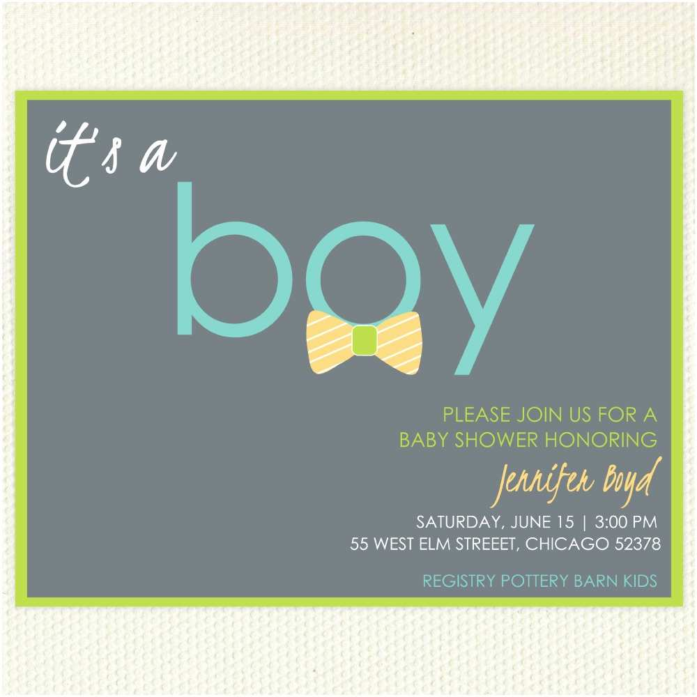 Bow Tie Baby Shower Invitations 301 Moved Permanently