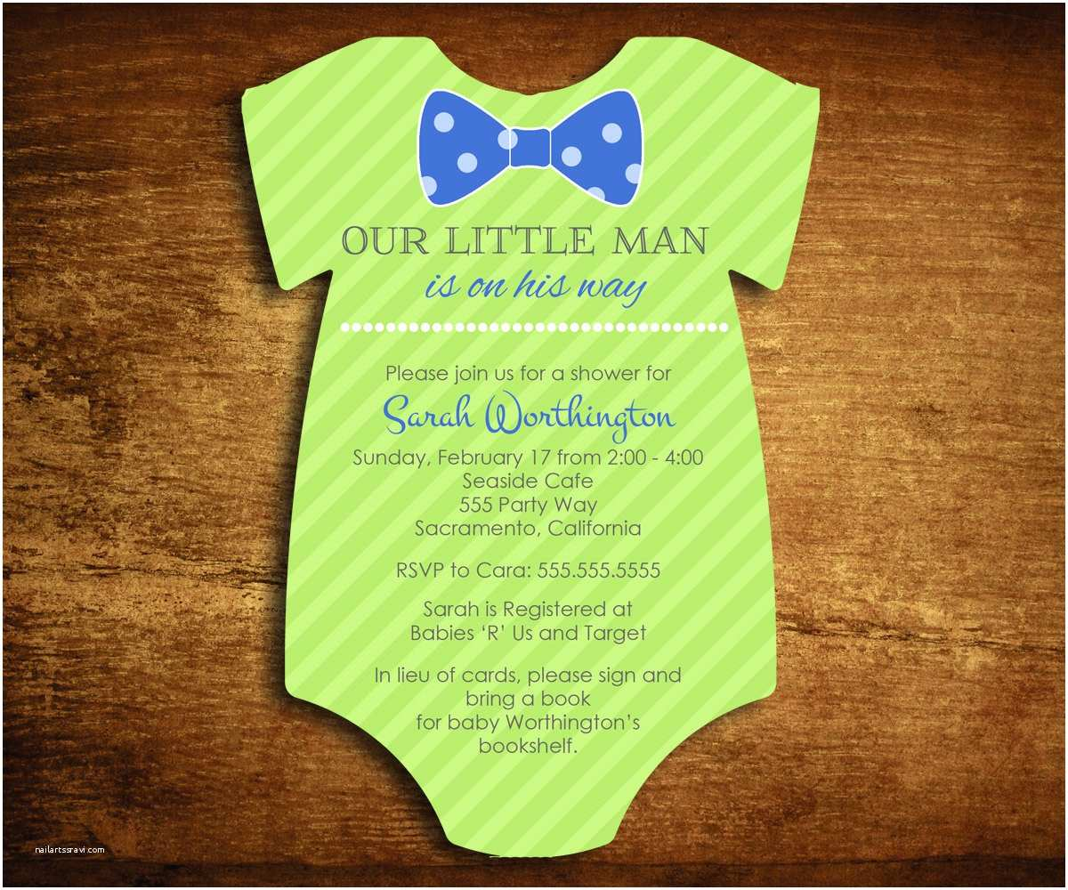 Bow Tie Baby Shower Invitations Chandeliers & Pendant Lights