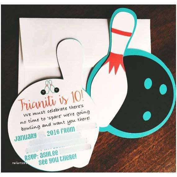 Bowling Birthday Party Invitations Best 25 Bowling Party Invitations Ideas On Pinterest