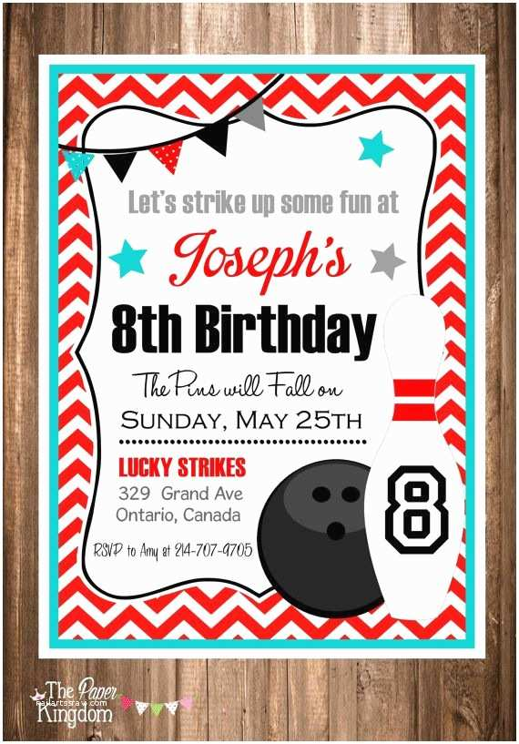 Bowling Party Invitations Best 20 Bowling Party Invitations Ideas On Pinterest