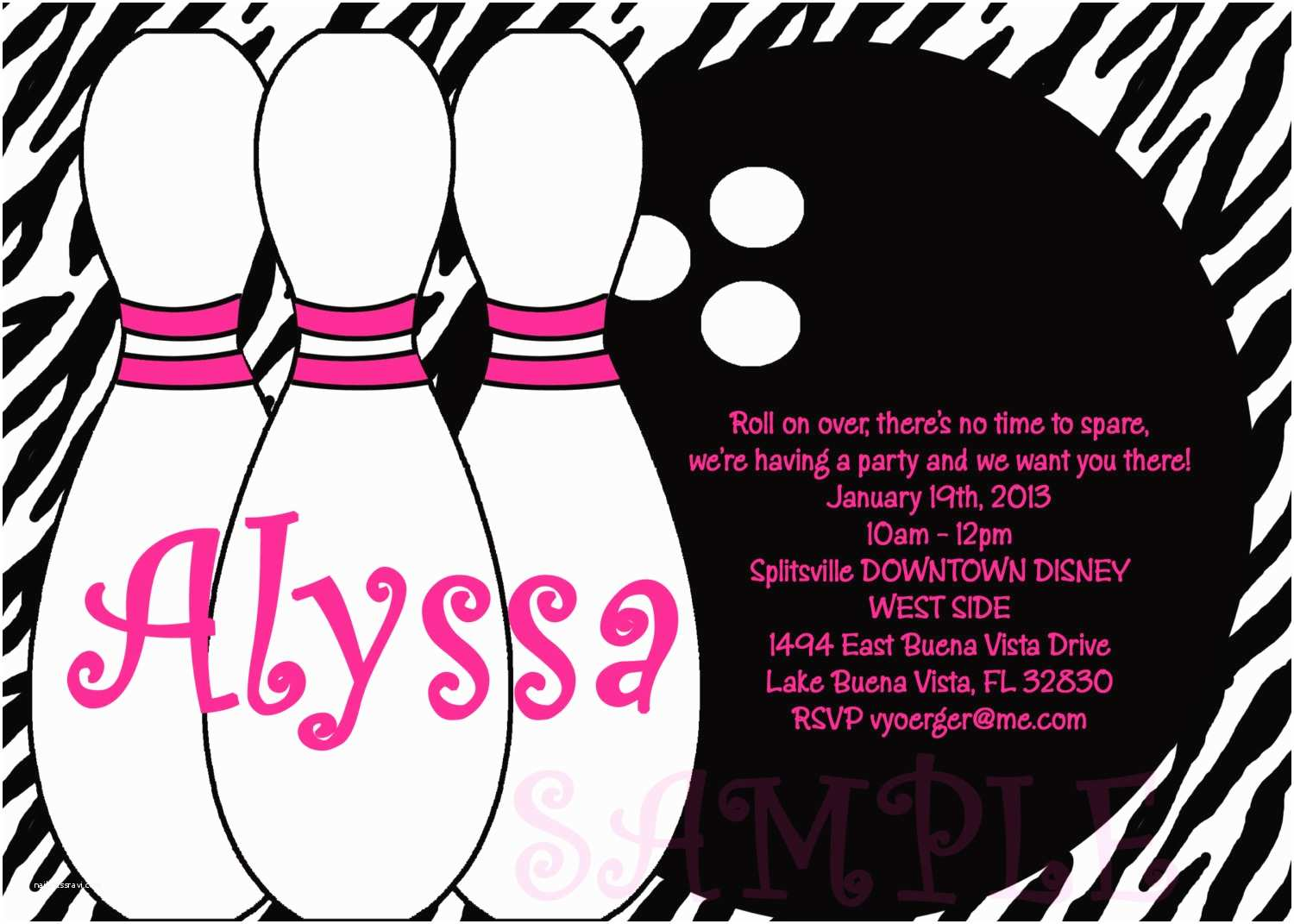 Bowling Party Invitations Bowling Party Invitations Templates Ideas Bowling Party