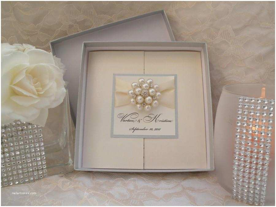 Box Wedding Invitations Brooch Boxed Invitations Brooch Invitations