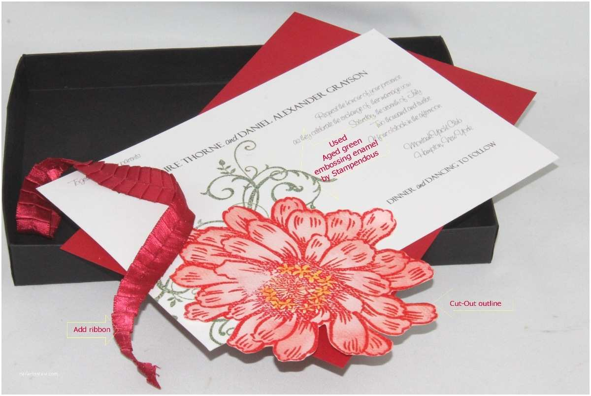 diy box wedding invitations