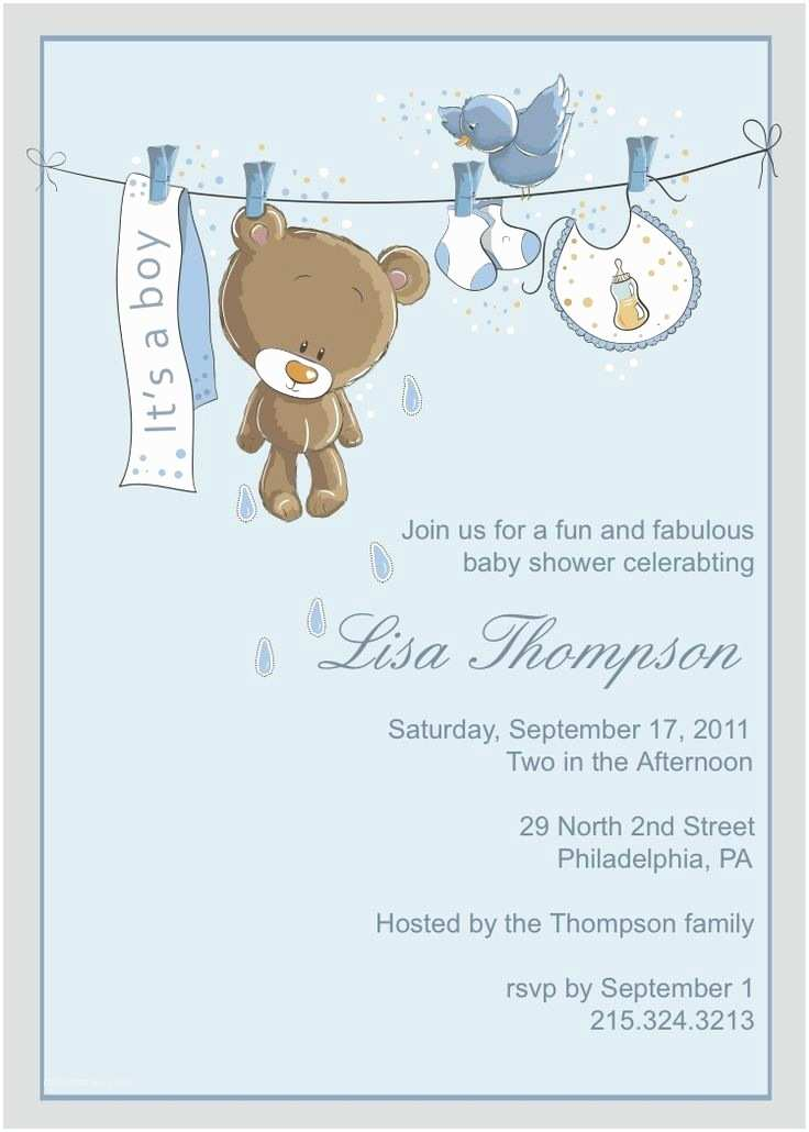 Boy Baby Shower Invitations 203 Best Baby Shower Invitation Card Images On Pinterest
