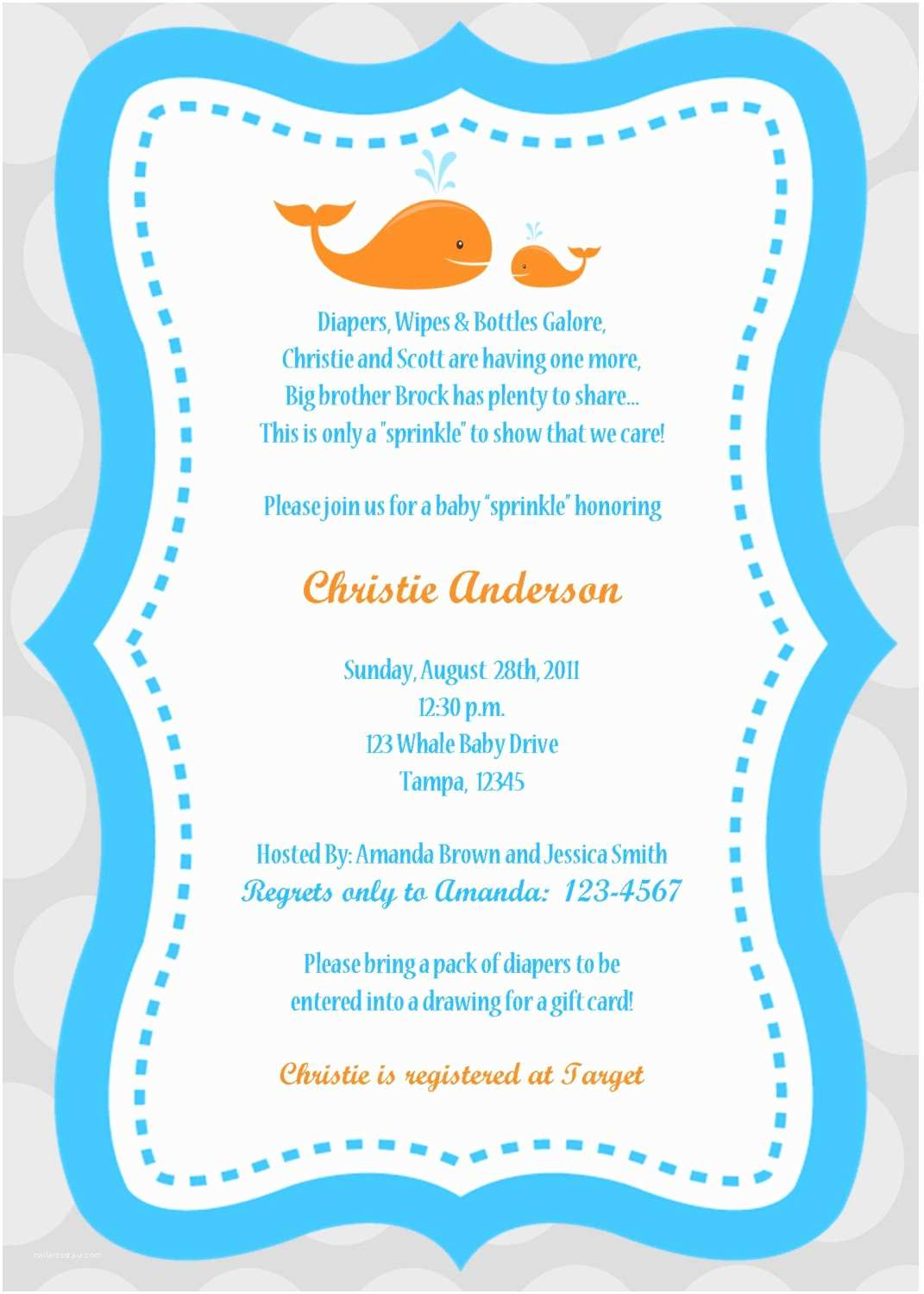 Boy Baby Shower Invitations Baby Boy Shower Invitations Wording