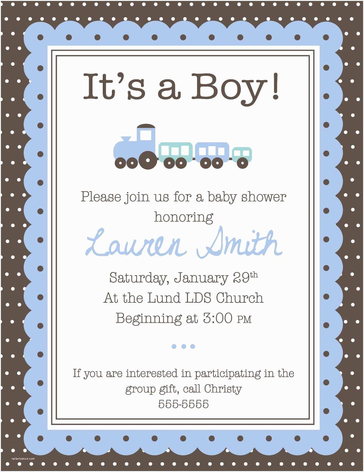Boy Baby Shower Invitations Baby Shower Invitation Printable Baby Shower Invitations