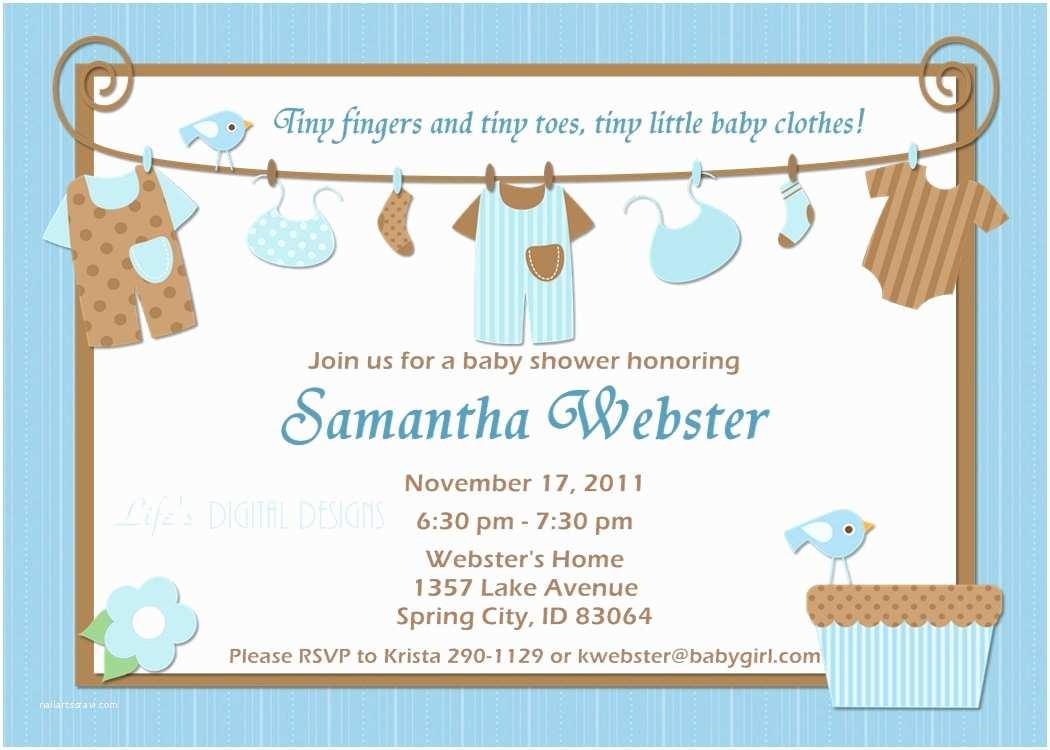 Boy Baby Shower Invites Ideas for Boys Baby Shower Invitations