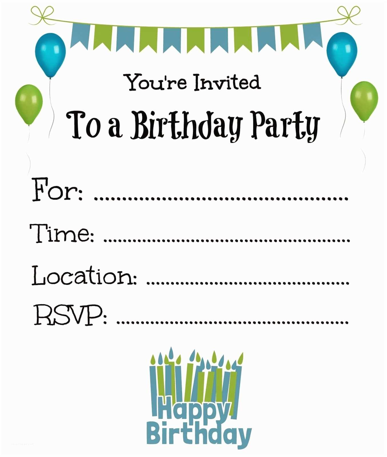 Boy Birthday Invitations Boy Birthday Invitations Printable