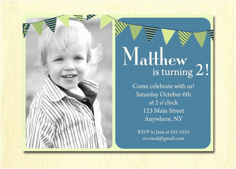 Boy Birthday Invitations First Birthday Baby Boy Invitation 1st 2nd 3rd 4th Birthday