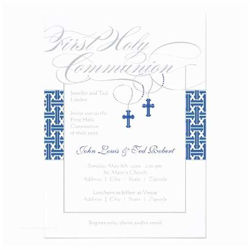 Boy Communion Invitations 25 Best First Holy Munion Invitations Images On