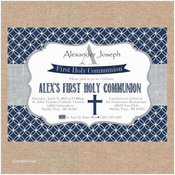 Boy Communion Invitations 86 Best Images About First Munion On Pinterest