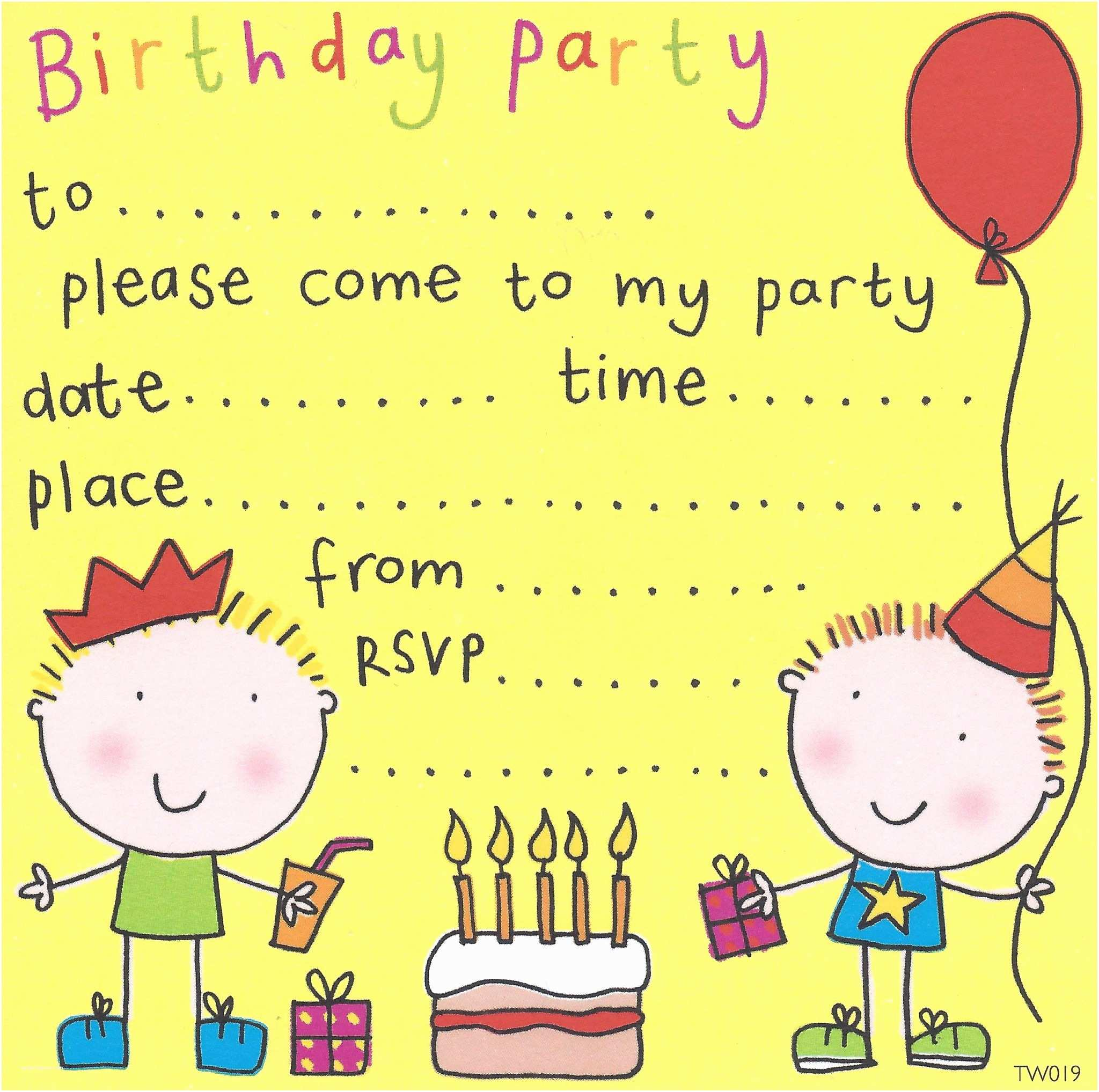 Boys Party Invitations Party Invitations Birthday Party Invitations Kids Party