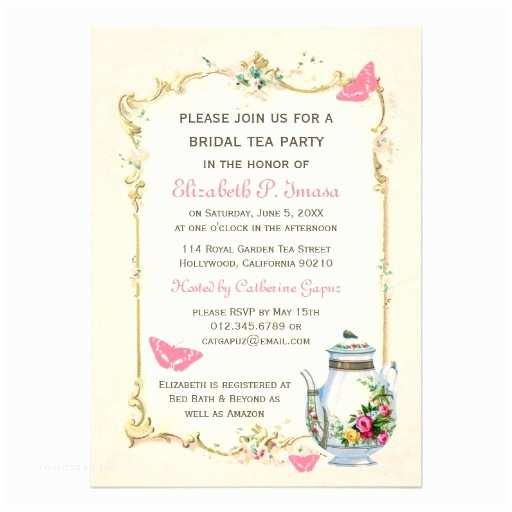 Bridal Party Invitations Tea Party Invitation Quotes Quotesgram