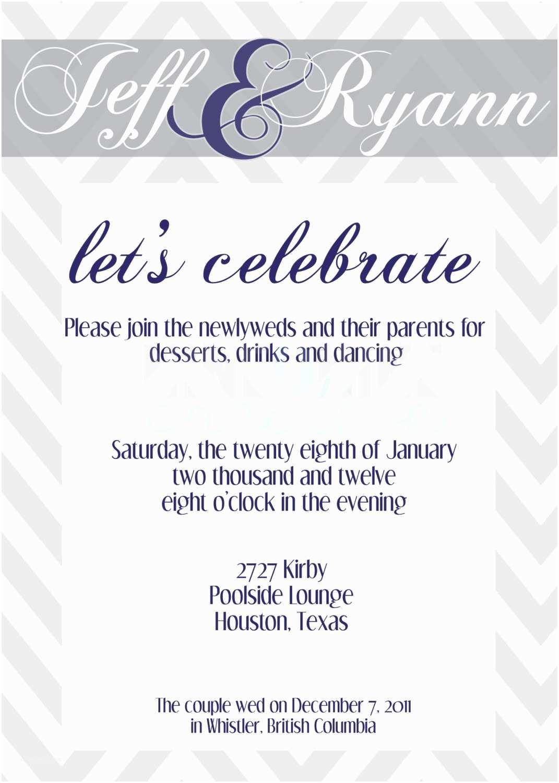 Bridal Party Invitations Wedding Reception Invitation by Nineoninecreative On Etsy