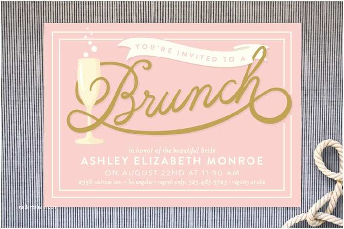 Bridal Shower Brunch Invitations 23 Bridal Shower Invitation Ideas that You Re Going to Love