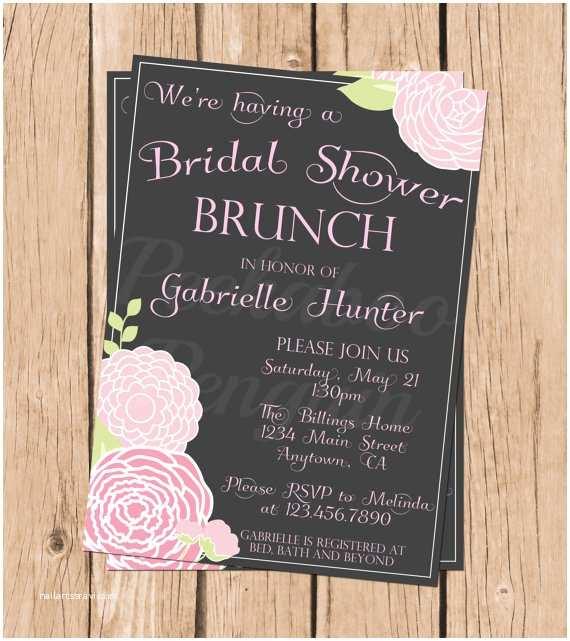 Bridal Shower Brunch Invitations Bridal Shower Brunch Invitations Vintage Bridal Shower