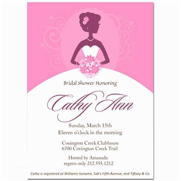 Bridal Shower Invitation Etiquette Bridal Shower Invite Etiquette Template