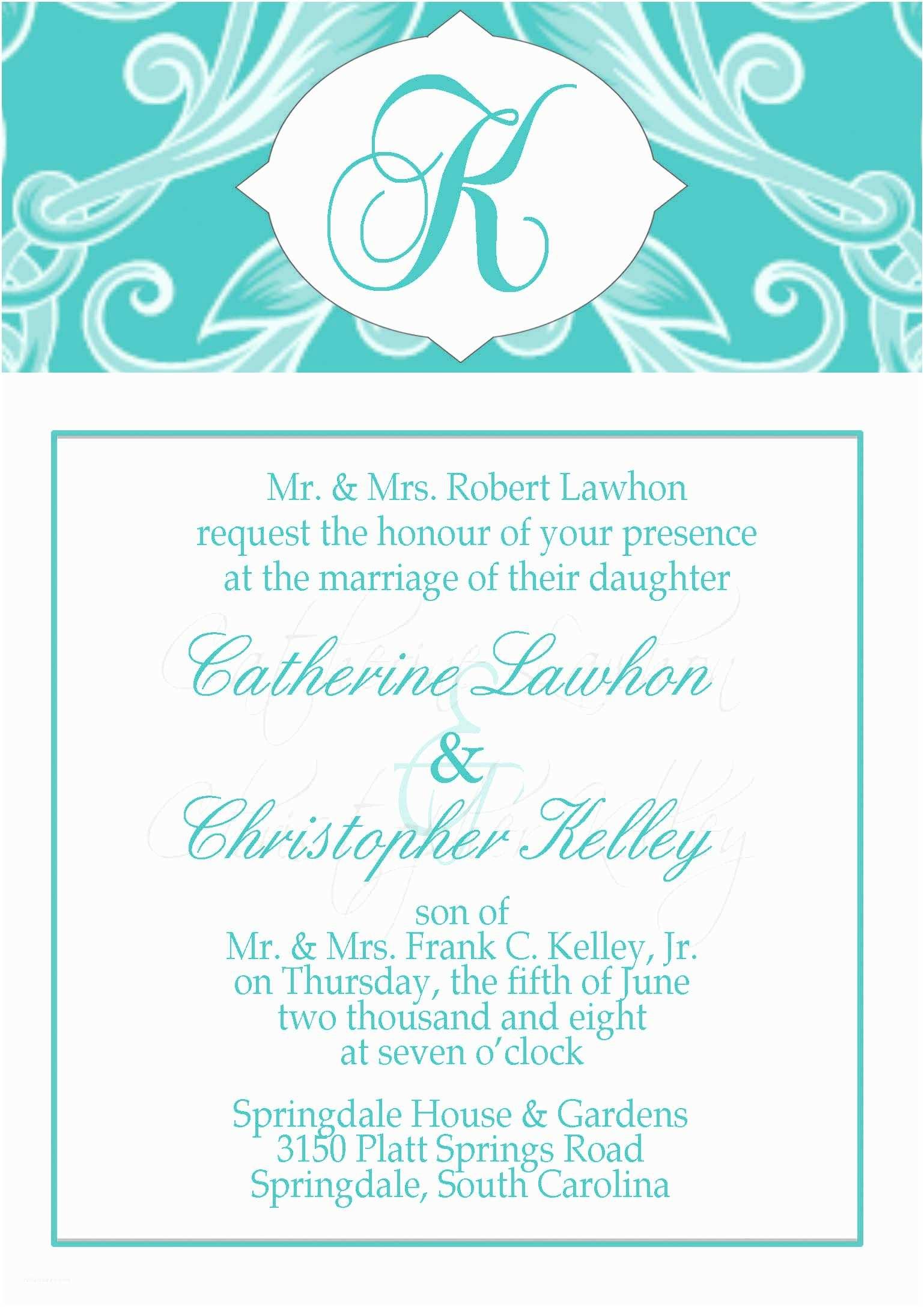 Bridal Shower Invitation Ideas Beach themed Invitation Cheap Image