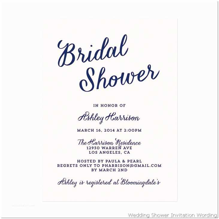 Bridal Shower Invitation Ideas Gift Card Bridal Shower Invitation Wording Gift Card
